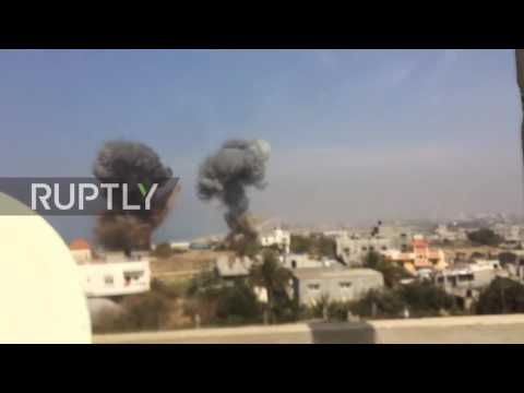 State of Palestine: IDF airstrikes rock central Gaza