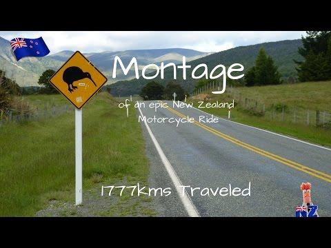 East Coast Montage   New Zealand  - Epic New Zealand Motorcycle Ride -  nzbeeker