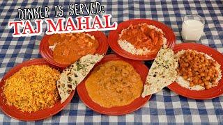 Indian Curry Challenge w/ Butter Chicken, Tikka Masala, & Lamb Korma!!