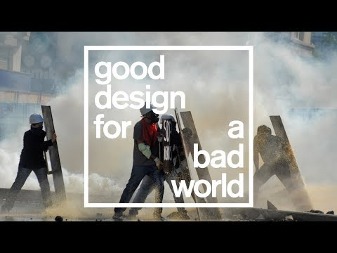 Highlights of Dezeen's politics talk for Good Design for a Bad World