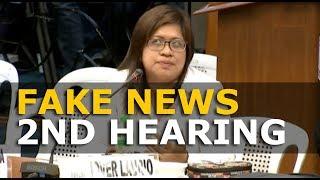 SENATE HEARING FAKE NEWS JANUARY 30 2018 2ND HEARING JOVER LAURIO AT MARIA RESSA