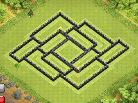 EPIC TOWN HALL 8 (TH8) Trophy/Clan War Base (The Shield) - Clash Of Clans