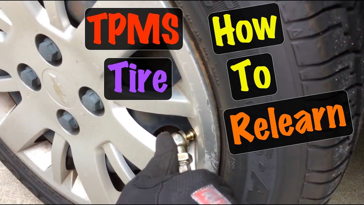 GM Tire Pressure TPMS Relearn Procedure after Rotation (All Chevy Cobalt &  Pontiac G5)