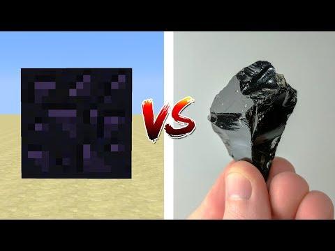 MINECRAFT BLOCKS VS REAL LIFE ROCKS