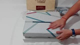 Постельное белье двуспальное Viluta Сатин твил 249 - обзор