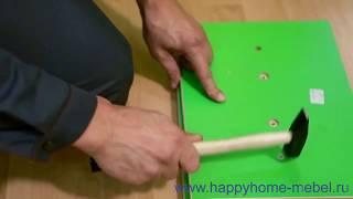 Видео инструкция по сборке мебели
