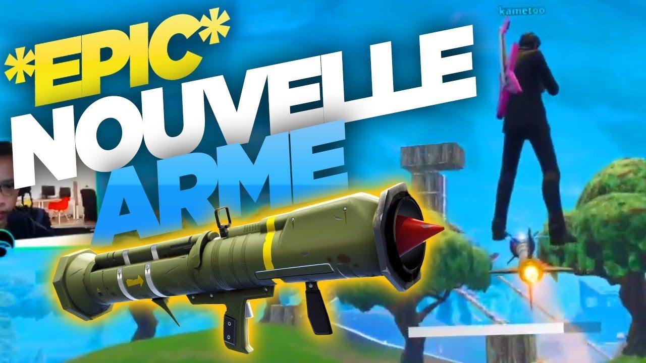 Epic Rocket Ride Nouvelle Arme Ft Kameto Fortnite Battle Royale
