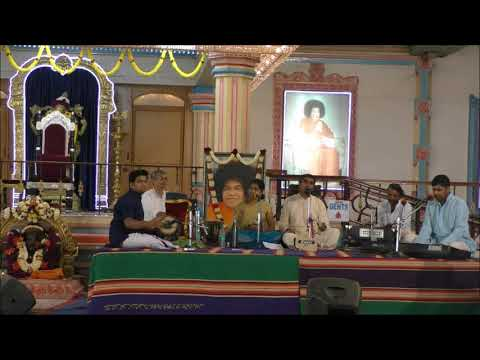 ONE WITH SAI: 22 October 2017 - Devotional Music Programme by Shri. Murali Ramanathan & Party