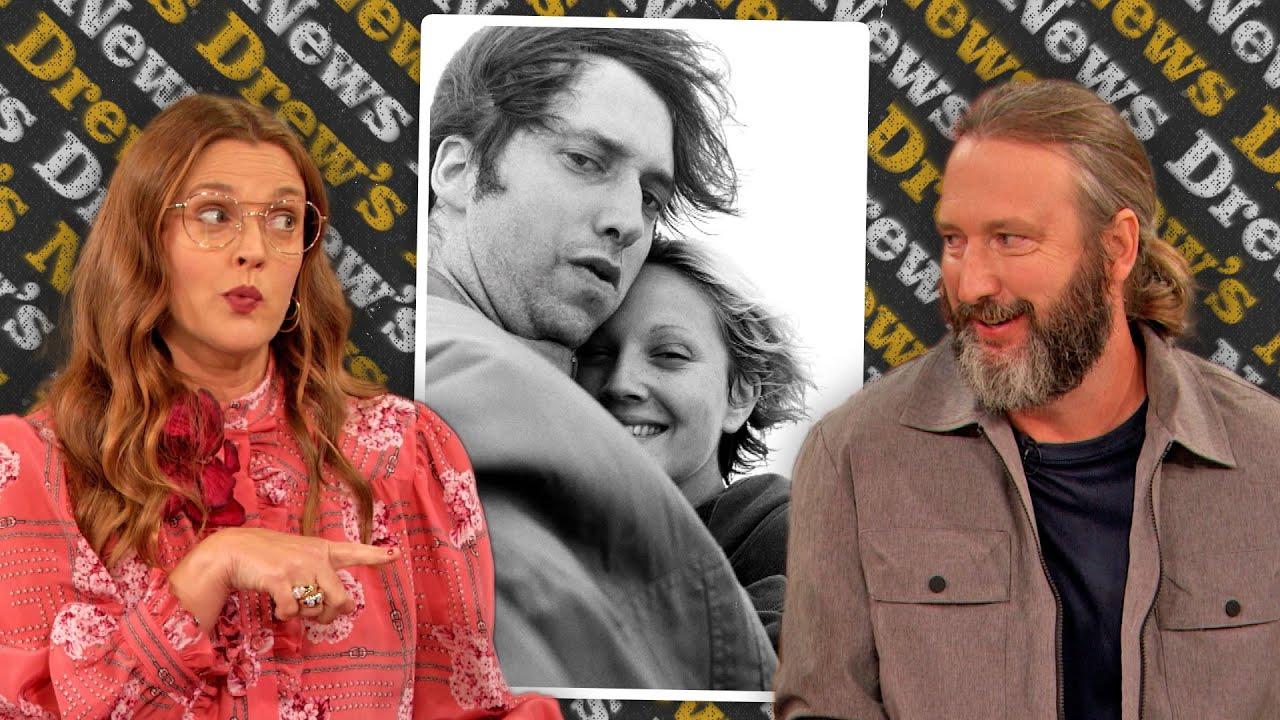 Video: Drew Barrymore and ex Tom Green reminisce over honeymoon