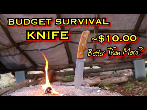 FROST CUTLERY FIXED BLADE SURVIVAL Knife TEST