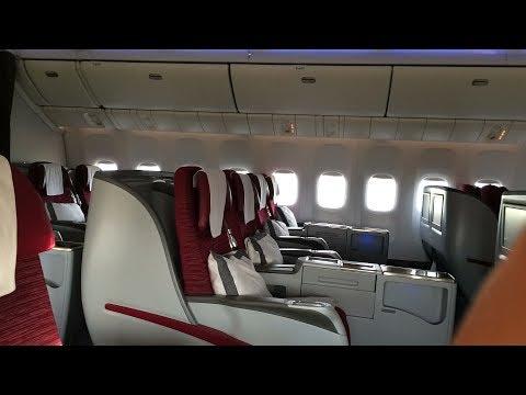 DOH - KUL, Qatar Airways Business Class B777-ER, QR844
