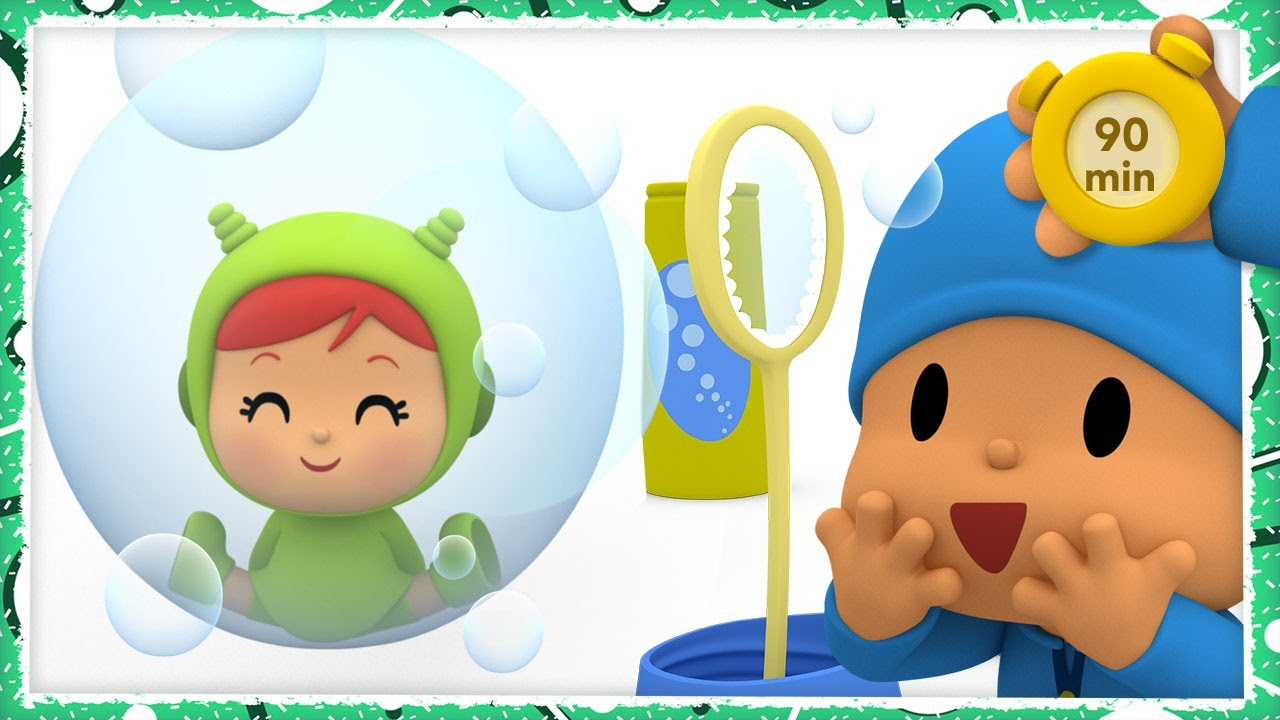 🔮 POCOYO AND NINA - Fantastic adventures [90 minutes] |ANIMATED CARTOON for Children | FULL episodes