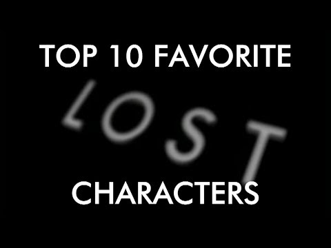 Top 10 Favorite LOST Characters