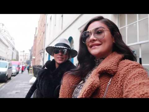 Kiana bezoeken in Londen  🇬🇧❤️ - LA Sisters Vlog 106