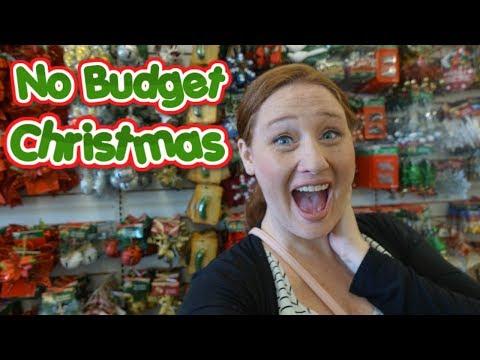 NO BUDGET CHRiSTMAS SHOPPING AT DOLLAR TREE