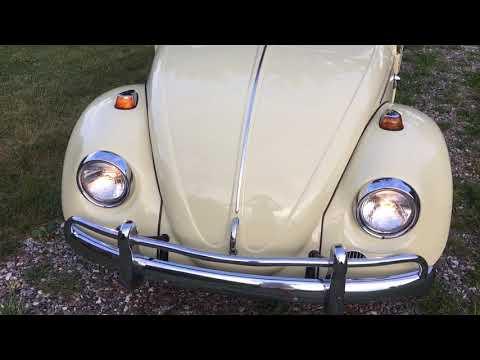 No Reserve: 1967 Volkswagen Beetle Convertible