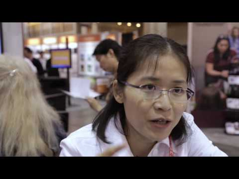 Vivian Luo of California State University, Fresno, at ASEE 2016
