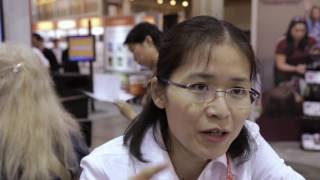 Vivian Luo of California State University, Fresno, at ASEE 2016