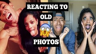 REACTING TO OLD PHOTOS!!!!