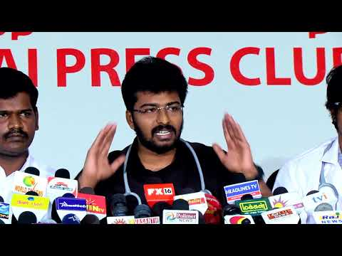 NGSDA - Press meet 19/03/2017 - Chennai Press Club