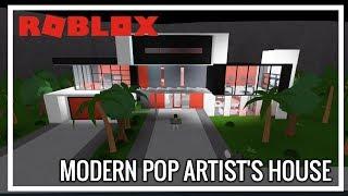 ROBLOX - France Bienvenue à Bloxburg (fr) Maison de l'artiste pop moderne