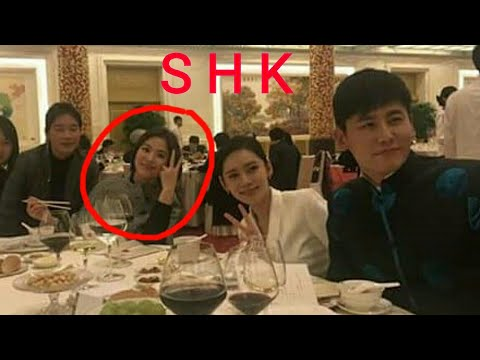 Beauty Song Hye Kyo Enjoying at State Dinner,... China's President Economic Partnership with Korean