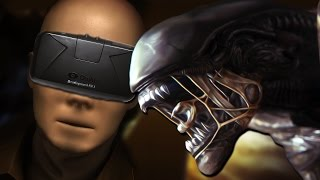 ALIEN ISOLATION with the OCULUS RIFT (DK2)