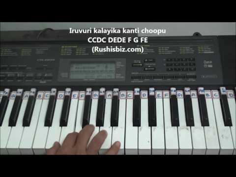 Kani Penchina Ma Ammake (Piano Notes) - Tutorials