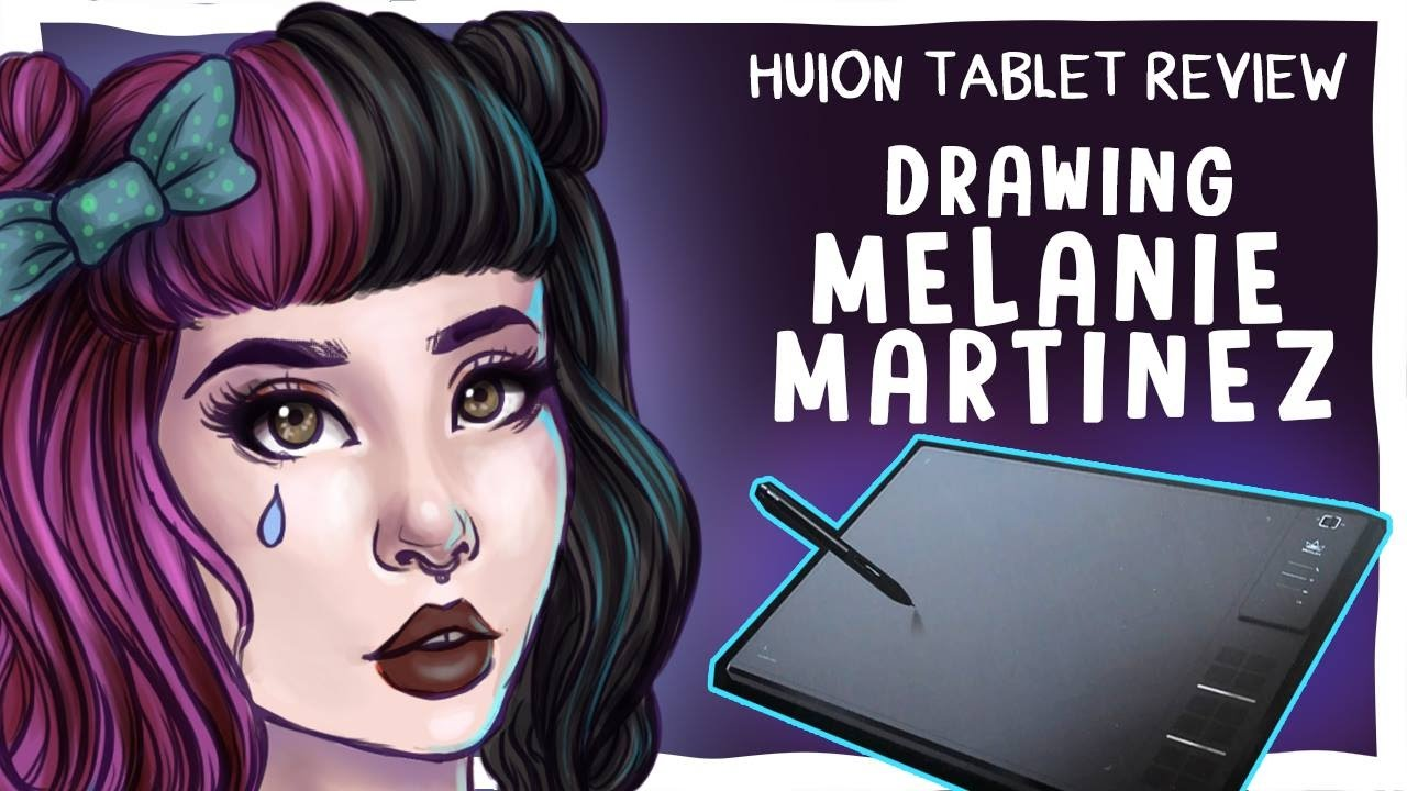 [GIVEAWAY CLOSED] | Drawing MELANIE MARTINEZ//HUION TABLET ...