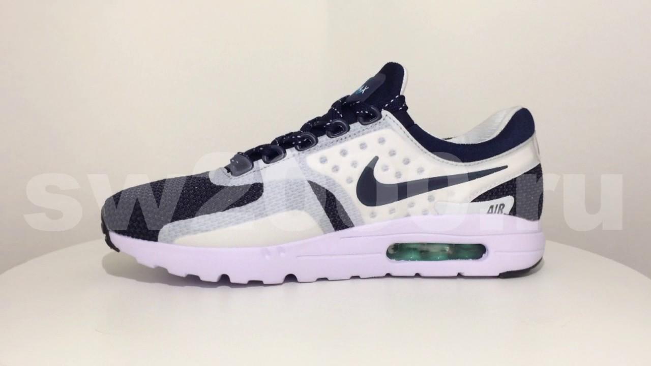 buy online b5e81 9327c Nike Air Max Zero Blue White Men ...