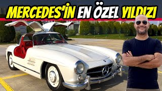 MERCEDES 300SL GULLWING test ettik!