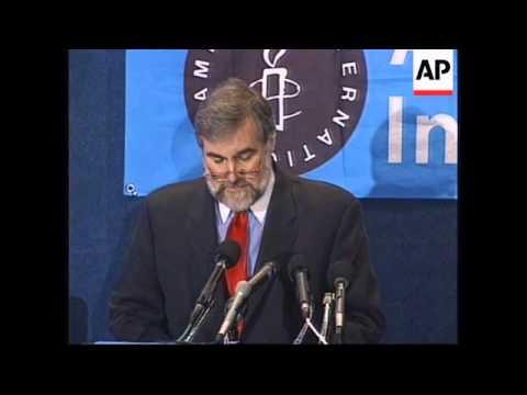 Amnesty International says US safe haven for torturers