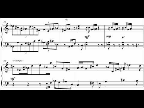 12Tone Etude for Solo Piano, No 1:  Nick Errico
