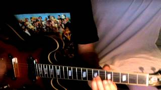 Within You Without You ~ The Beatles George Harrison Patti Smith ~ Cover w/ Epiphone Casino VS