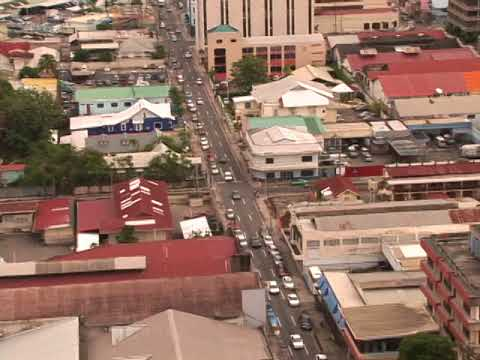 Port of Spain Street Traffic