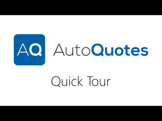 AQ Quick Tour