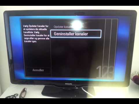 No network ID when re-installing Philips TV mp4