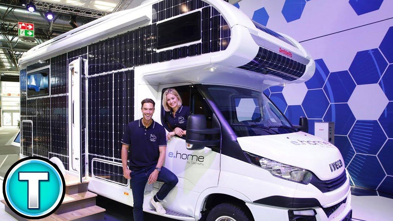 SOLAR Powered RV! - Dethleffs e home