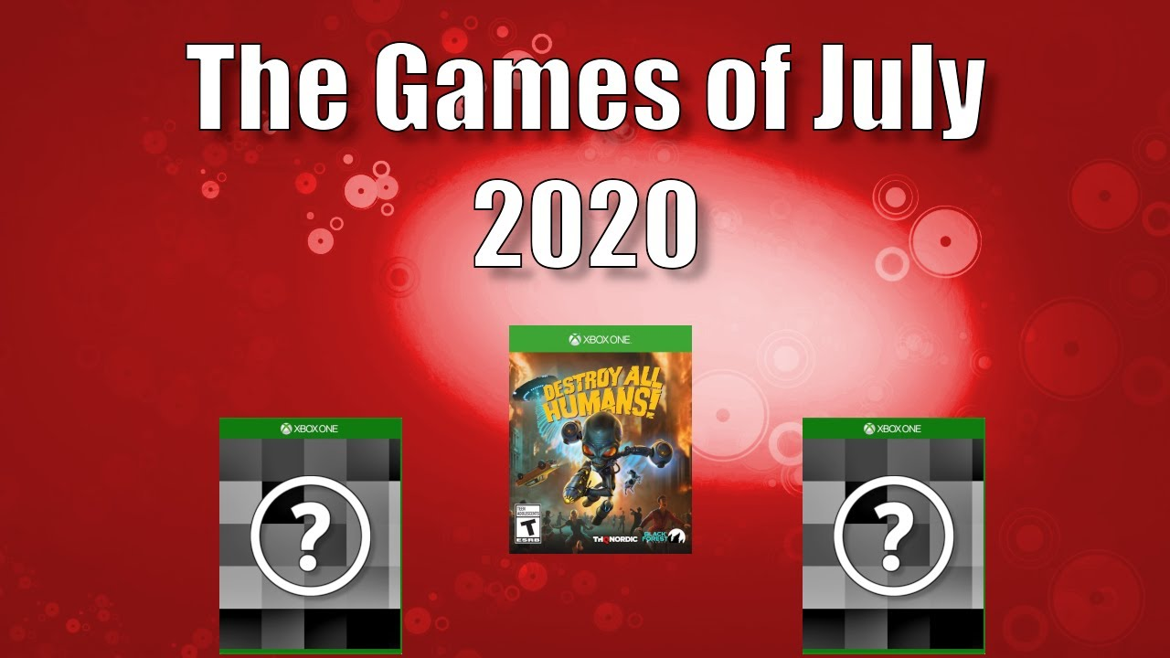 What Games to Buy July in 2020