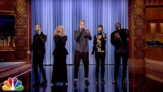 Pentatonix Sings The Tonight Show Open
