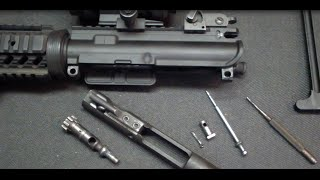 How to Disassemble (field strip) and Reassemble the AR-15 Rifle