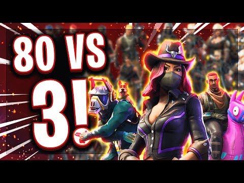 🤠🆚🧟♂️3 JÄGER vs 80 ZOMBIES (only Pickaxe)! Können wir die Zombie Horde aufhalten?!