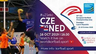 IKF U21 EKC 2019 CZE - NED