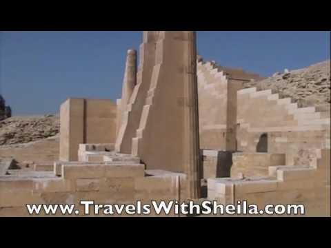The Step Pyramid of Zoser - Sakkara, Egypt
