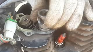 Ремонт китайського мотора.#Приехалапоршневая