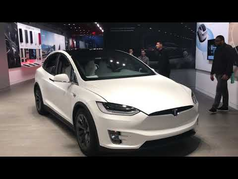 Tesla Model X Performs And Dances To Wizards In Winter Youtube