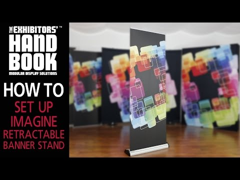 Imagine Retractable Banner Stand Set Up Thumbnail