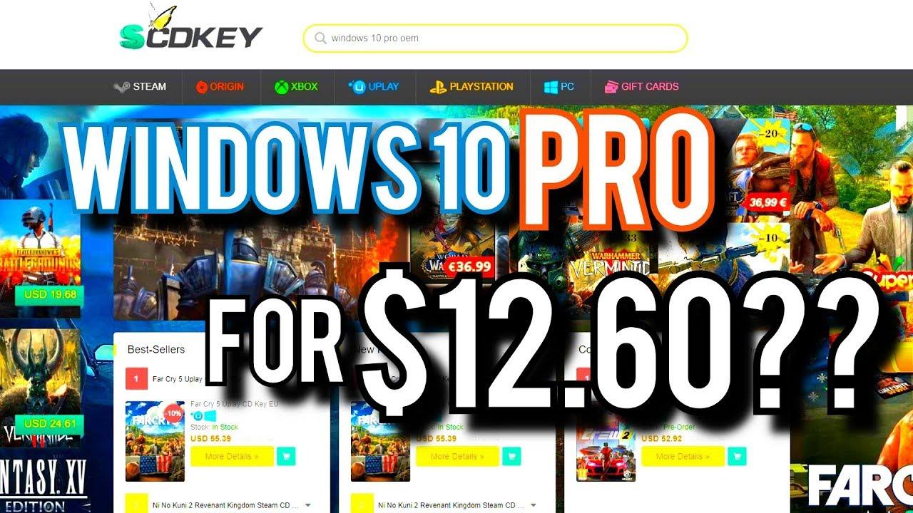 best way to get windows 10 cheap