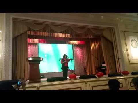 Jamila telling verse on Chinese Spring Festival 2017.02.11