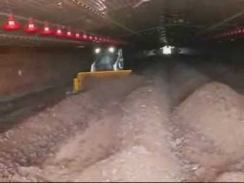 Oklahoma Video Poultry Litter In-House Windrow Composting Turner BobCat Organic Soil Amendments
